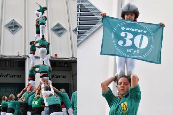 Disfaro celebra los 30 años compartiendo una jornada festiva con sus trabajadores